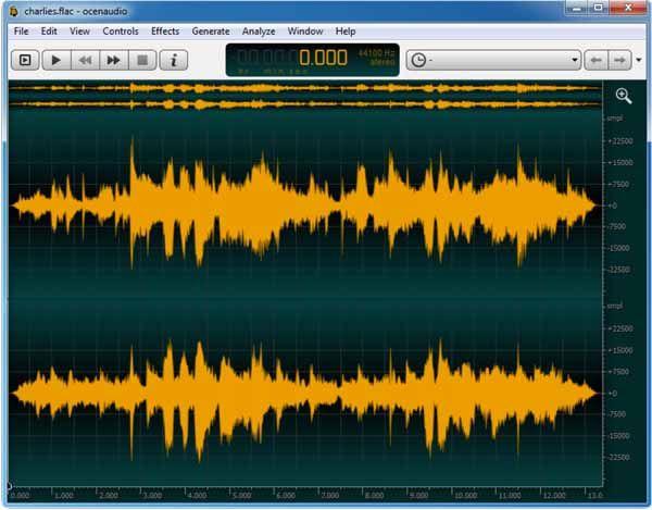 Ocenaudio-screenshot