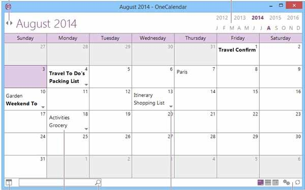 OneCalendar-screenshot
