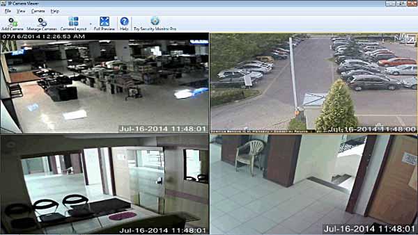 IP-Camera-Viewer-Screenshot