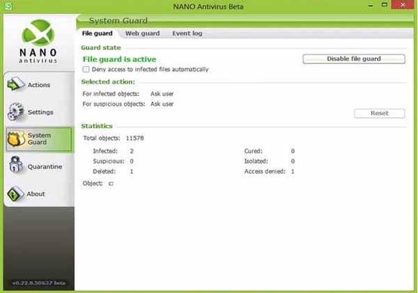 NANO-AntiVirus-screenshot