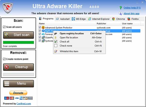 ultra-adware-killer-screenshot