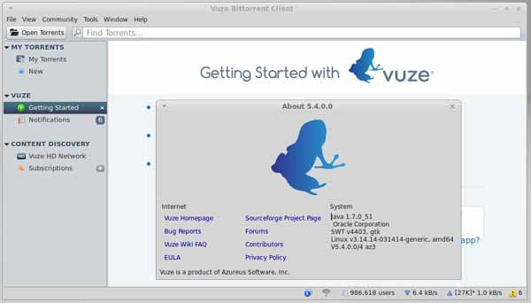 vuze-bittorrent-client-screenshot