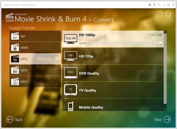 Ashampoo-Movie-Shrink&Burn-screenshot