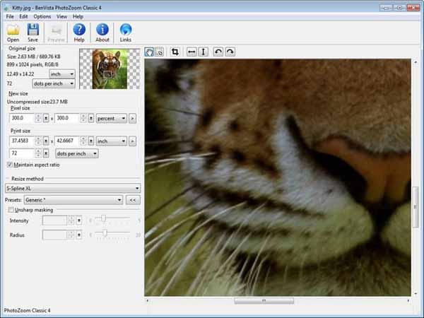 BenVista-PhotoZoom-Classic-screenshot