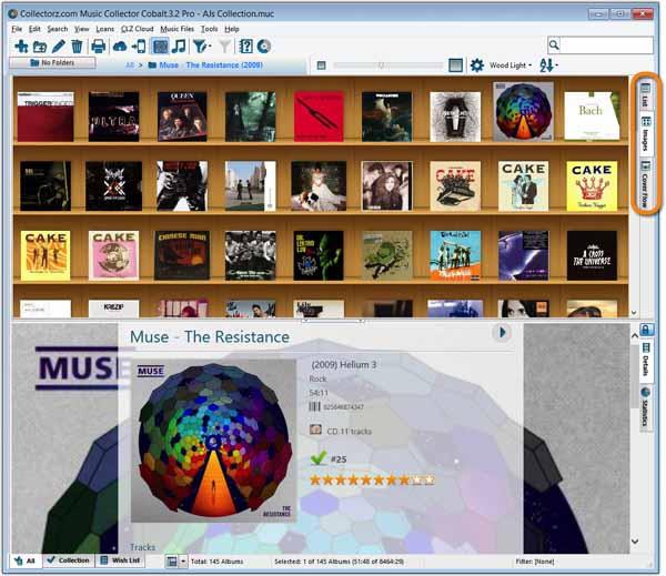 Collectorz.com-Music-Collector-screenshot