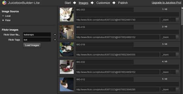 JuiceboxBuilder-Lite-screenshot