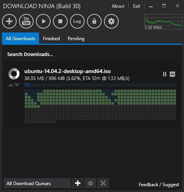 Ninja-Download-Manager-Screenshot