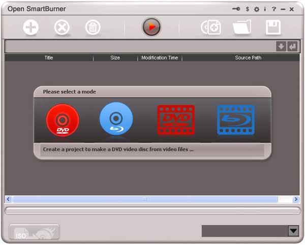 Open-SmartBurner-screenshot