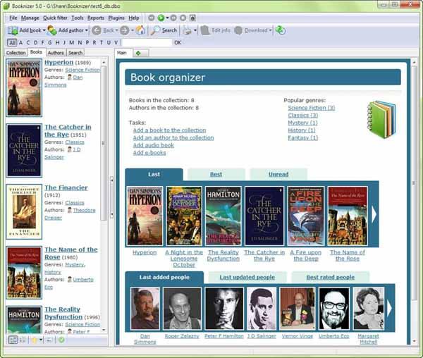Booknizer-Screenshot