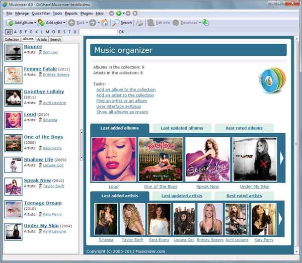 Musicnizer-Screenshot