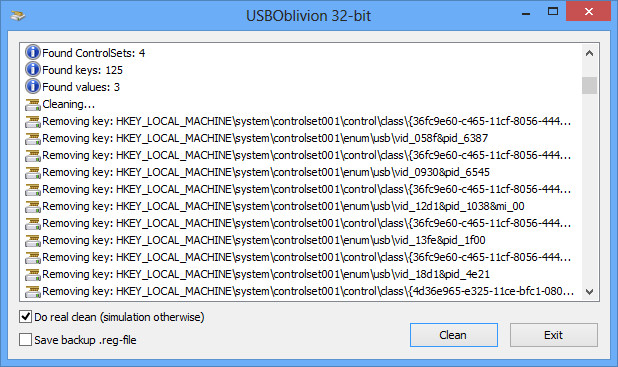 usb oblivion screenshots