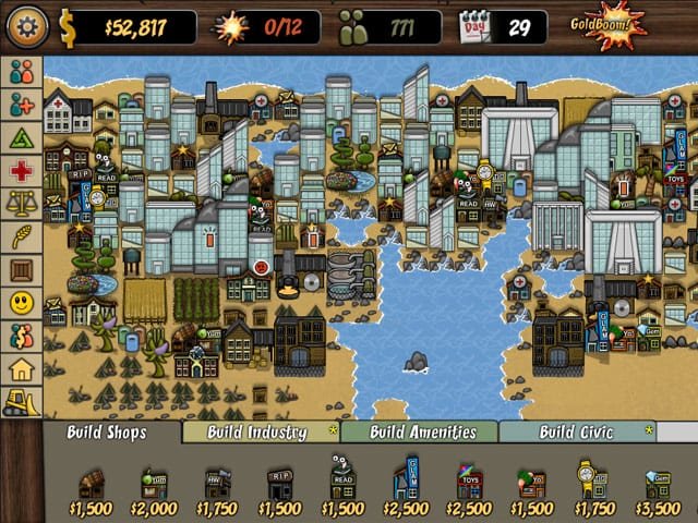 boom town deluxe game download screenshot