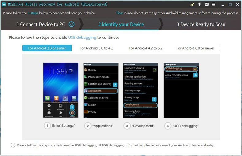 MiniTool-Mobile-Recovery-for-Android-screenshot