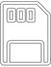 SD Card transparent