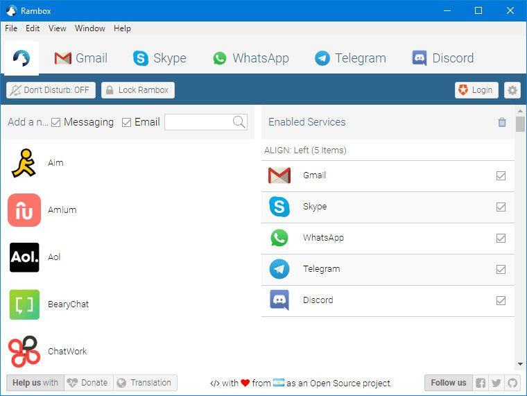 Rambox-screenshot-download