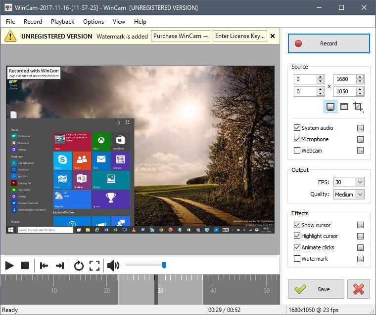 wincam-screenshot