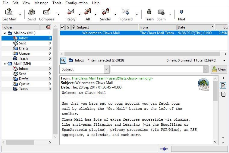 claws_mail-screenshot