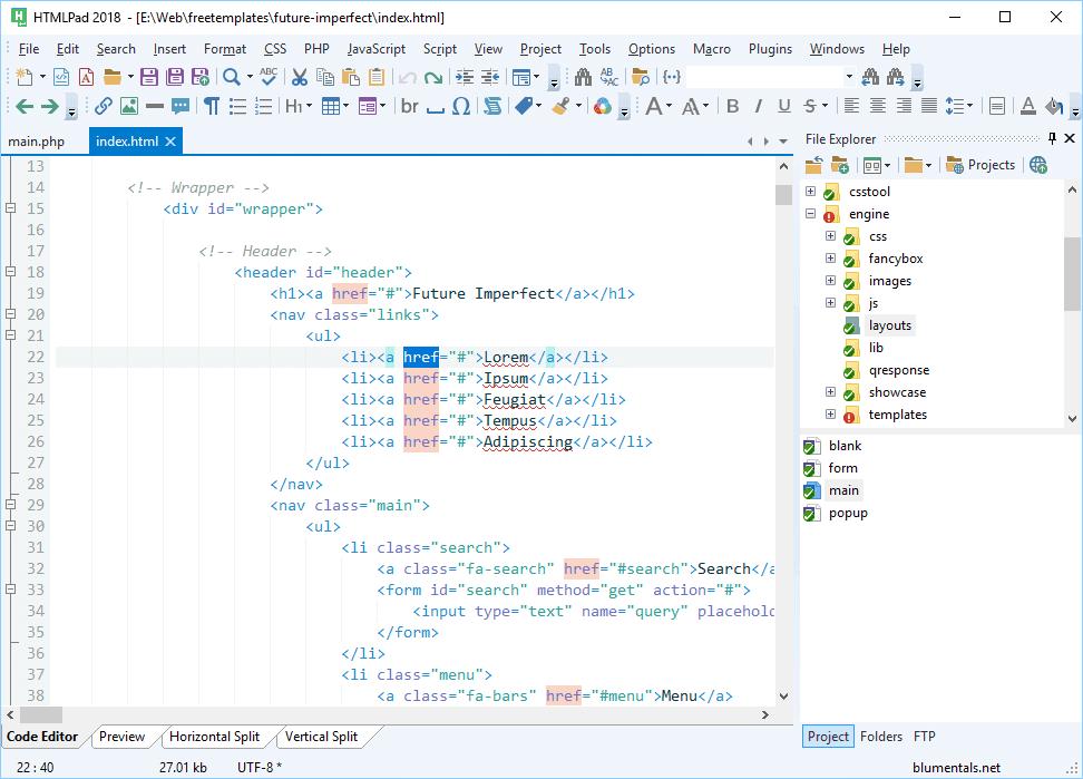 HTMLPad-Screenshot1